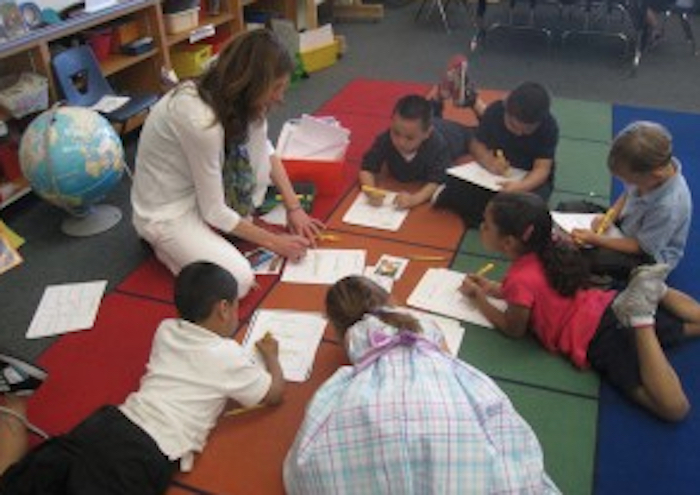 English learners from Hoover School in Redwood City participate in Sobrato Early Academic Language, a K-3 literacy program that researchers for Californians Together identified as effective for language development.