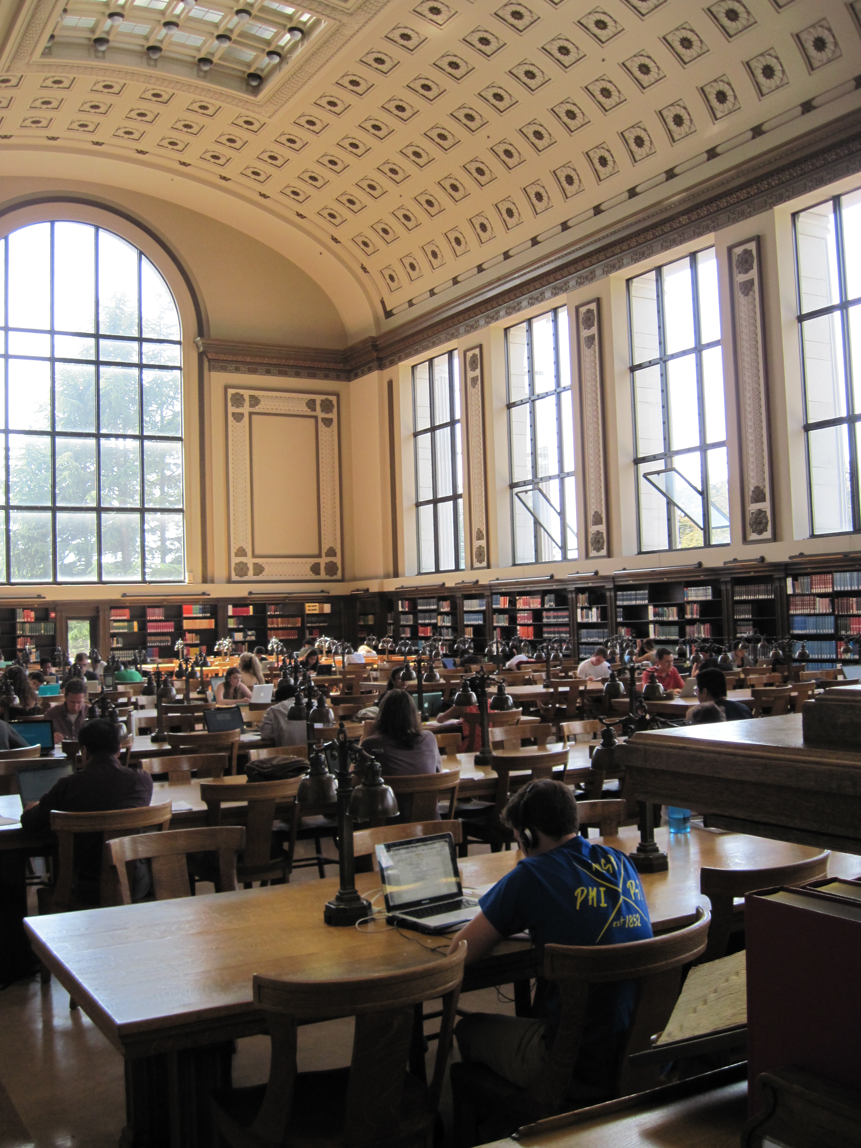uc admissions applicants face more essay choices shorter lengths  uc berkeley students study at one of the campus libraries only  percent  of california